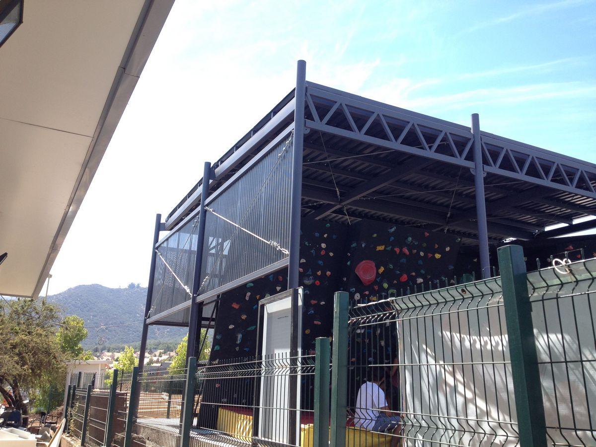 Estructura Boulder UDD – Las Condes